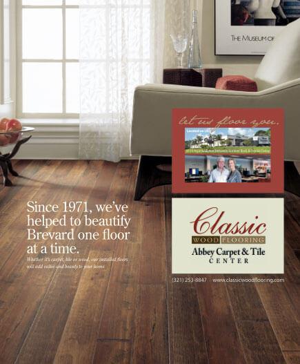 Classic Wood Flooring Print Ad Mcbride Marketing Group