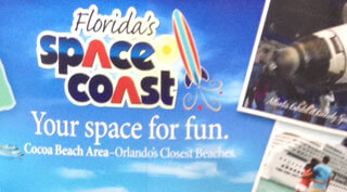 Florida's Space Coast Tradeshow Booth