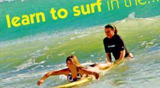 TDC Learn to Surf Campaign
